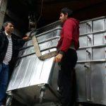 با پیگیری های اسماعیل دوستی سطل های زباله اهدایی شهرداری تهران به کوهدشت رسید
