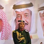تنش در جریان مراسم بیعت با ولیعهد سعودی + فیلم