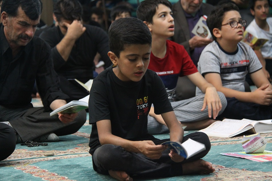 گزارش تصویری احیای شب ۲۱ ماه مبارک رمضان در کوهدشت